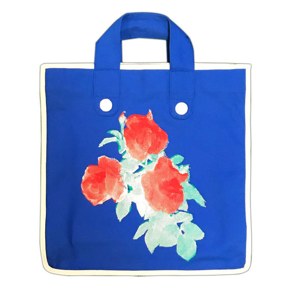 Rose Garden BAG/Blue(White Line)