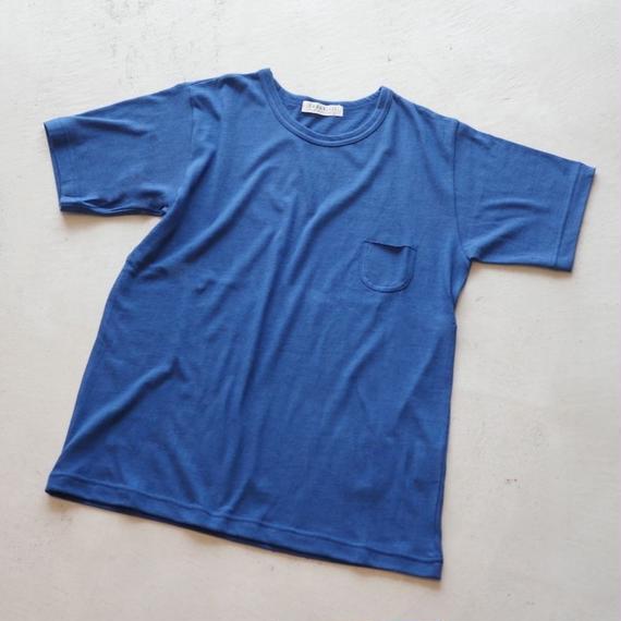 CS91 吊り編みガーゼポケットTEE 半袖(size 0 / 1)