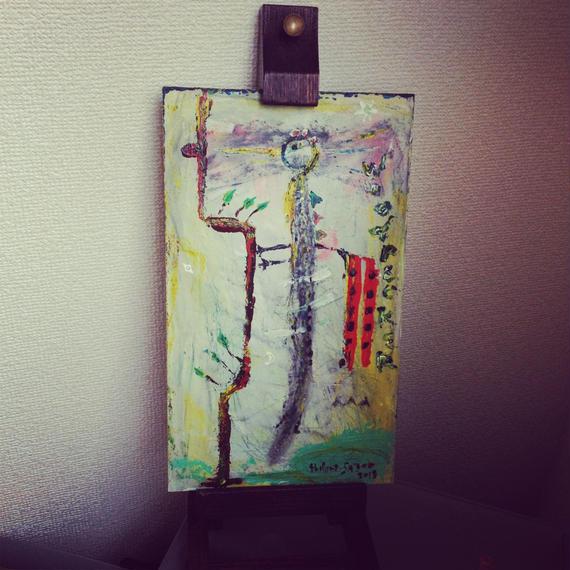 ST056「キツツキのためのキ」左藤芳美