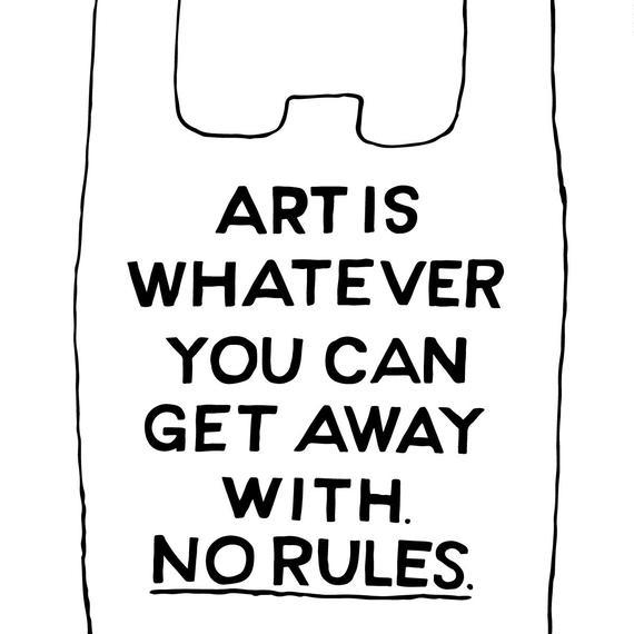 B2ポスター [ NO RULES ]