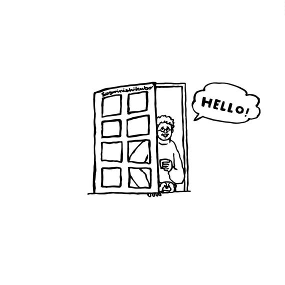 B2ポスター [ HELLO ]