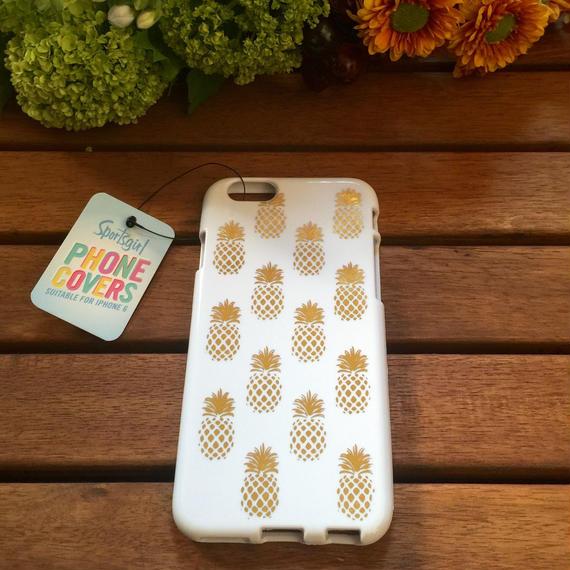 Sportsgirl / METALLIC PINEAPPLE PHONE CASE 6