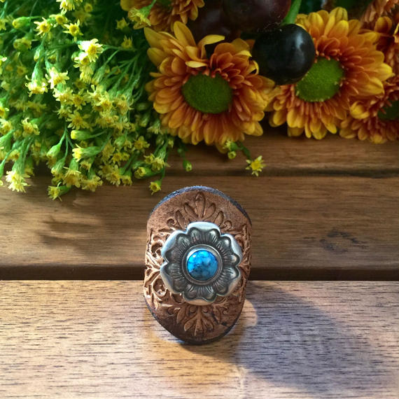 Buffalo Girl / turquoise ring