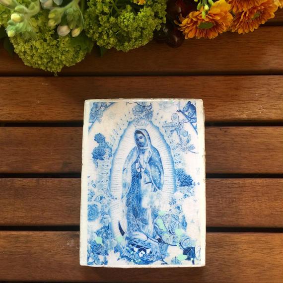 jai vasicek / Blue Guadeloupe Mini Tile