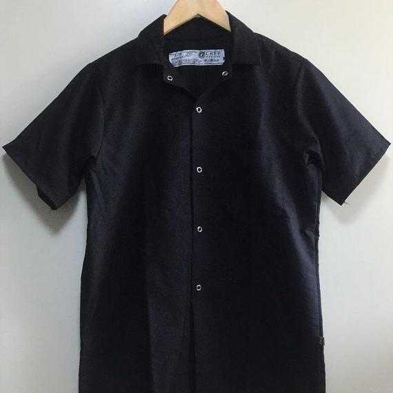 RED KAP Chef Designs Cook Shirt ( Black )