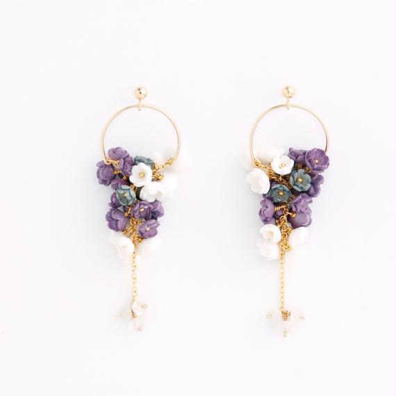 Mimosa small Earrings/Ear clips