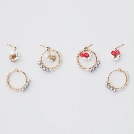 Nano Ring Earrings / Ear clips