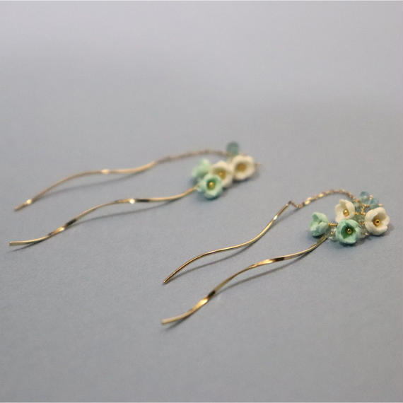 Nano aqua  Earrings