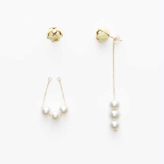 Tsubomi  Earrings   - peal 3 -