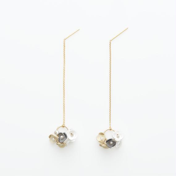 Mari Earrings -beige-