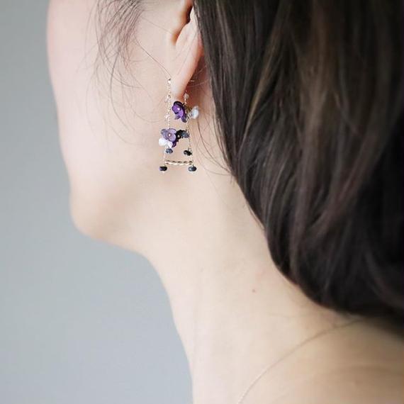 SWING short Earrings/Ear clips