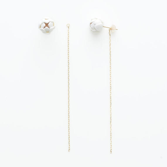 Tsubomi  Earrings   - long -
