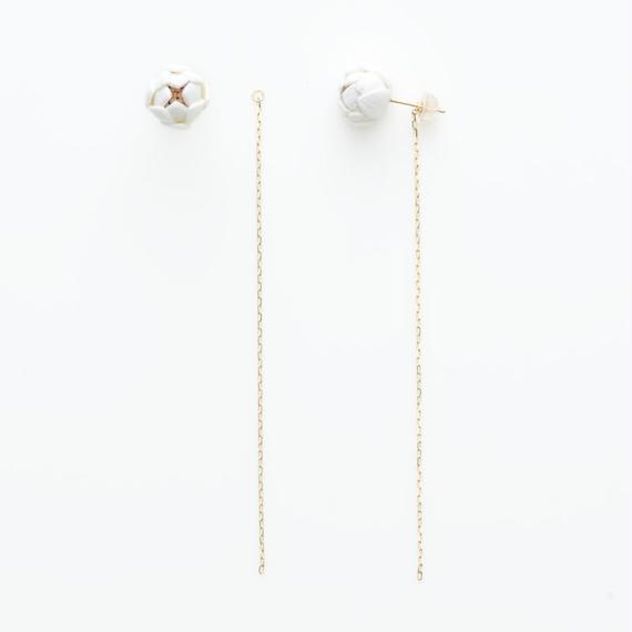 Tsubomi  Earrings   - long -
