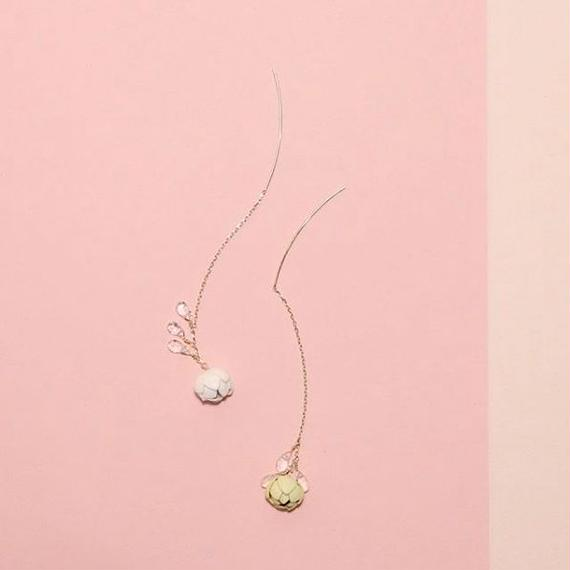 Tsubomi  Drop Earrings