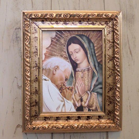 壁掛け絵 グアダルーペマリア (ローマ)