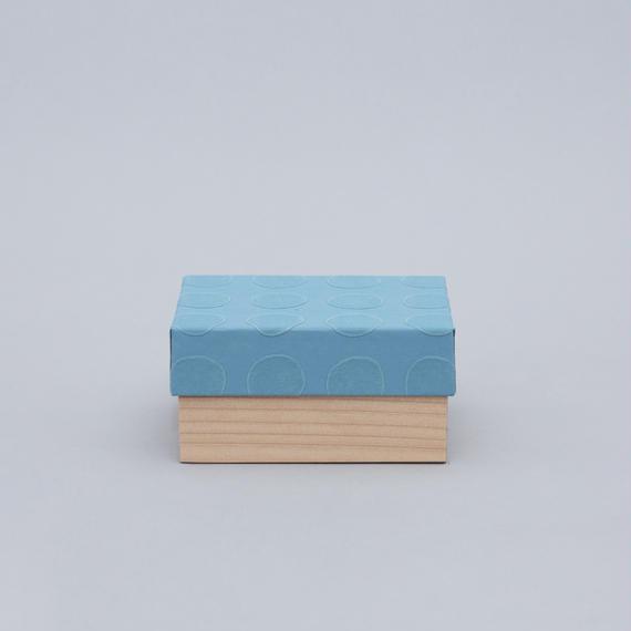 和紙箱・dot(淡青)