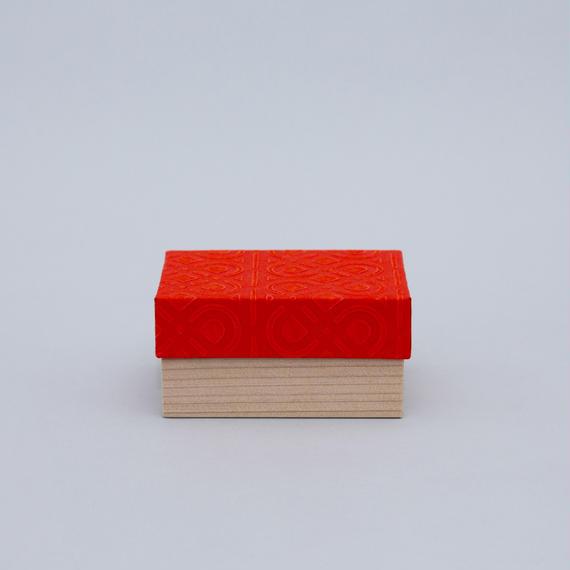 和紙箱・kikagaku(赤)