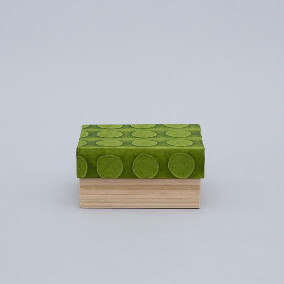 和紙箱・dot(うぐいす)