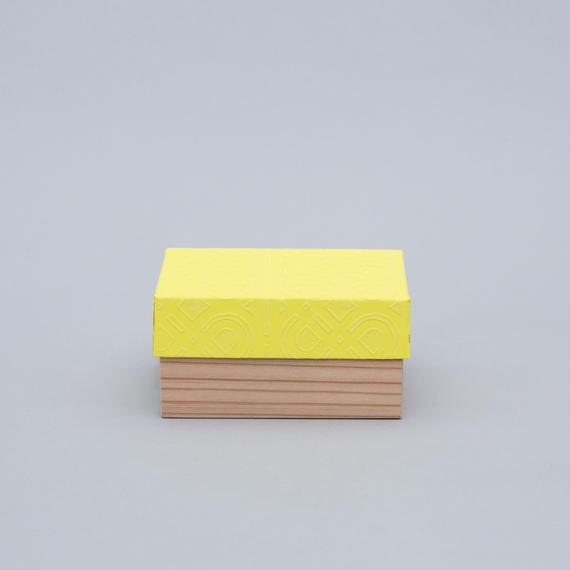 和紙箱・kikagaku(薄黄)