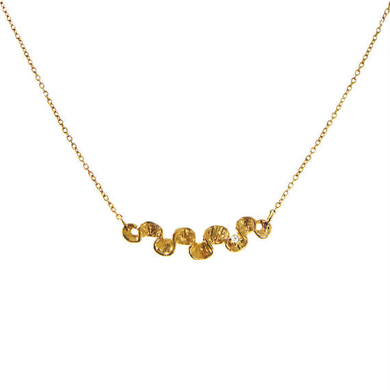 SHAFCA SMALL LINE DIA NECKLACE