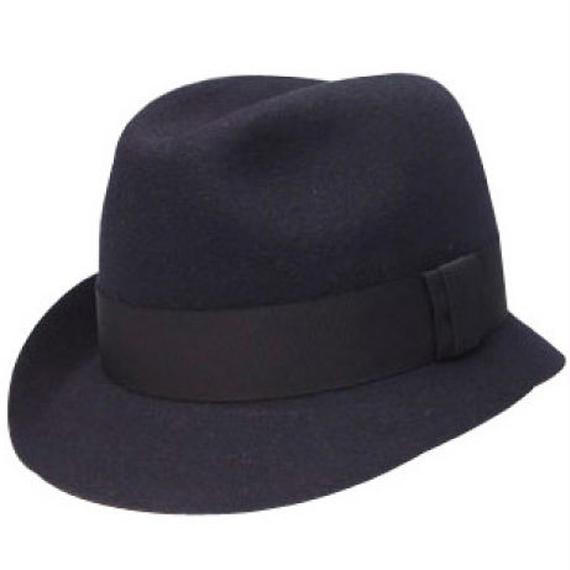 11403-ASYMMETRY HAT  NAVY 58cm