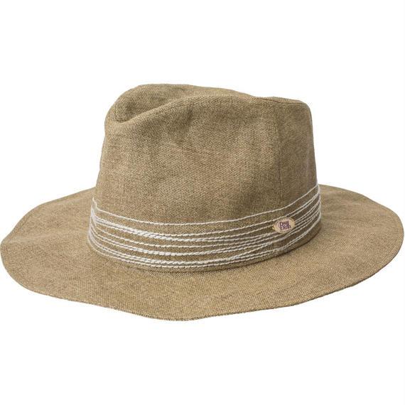18107   CROSS STITCH HAT (BEIGE)