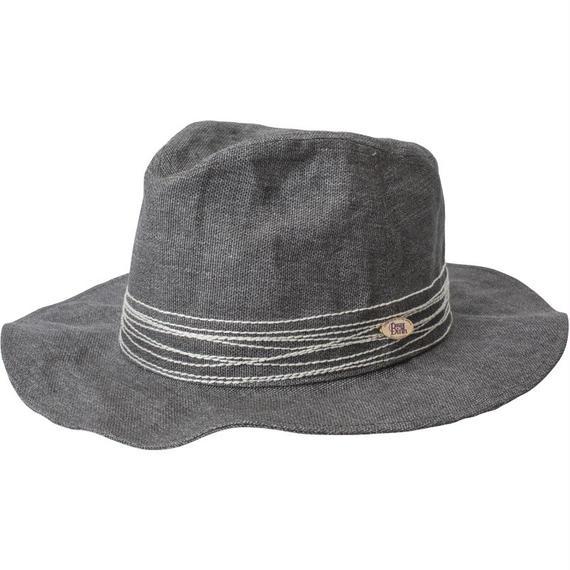 18107   CROSS STITCH HAT (GRAY)