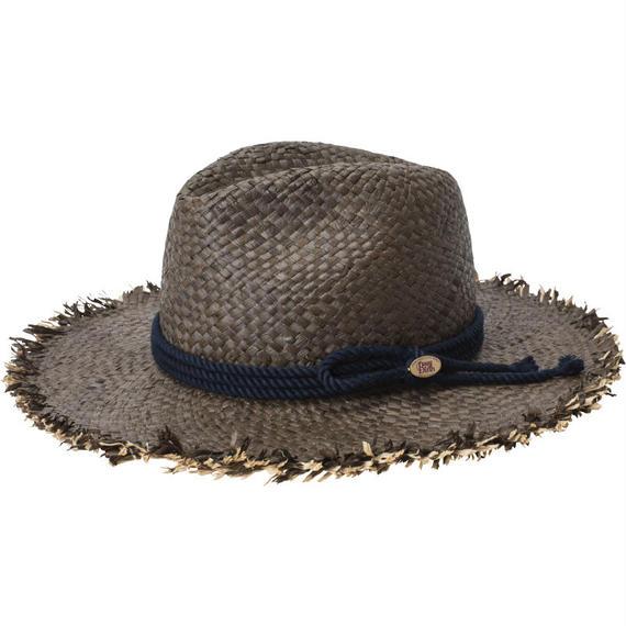 18113   W RAFFIA HAT (BROWN)