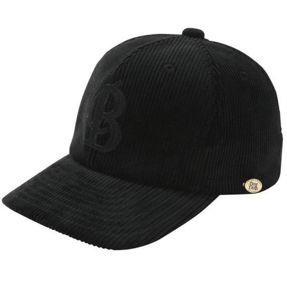 18301  CORDUROY B-CAP (BLACK)
