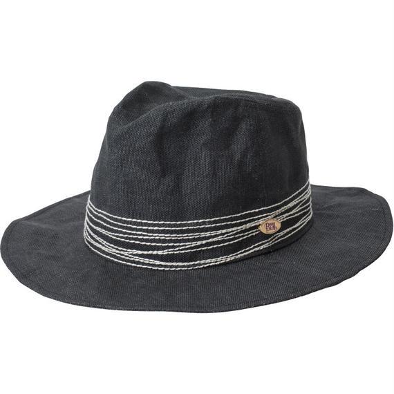 18107   CROSS STITCH HAT (BLACK)
