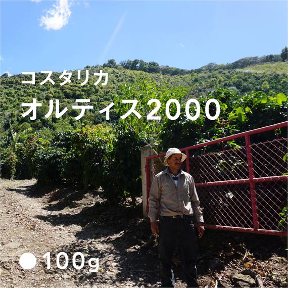コスタリカ オルティス2000/ 浅煎り (High Roast)
