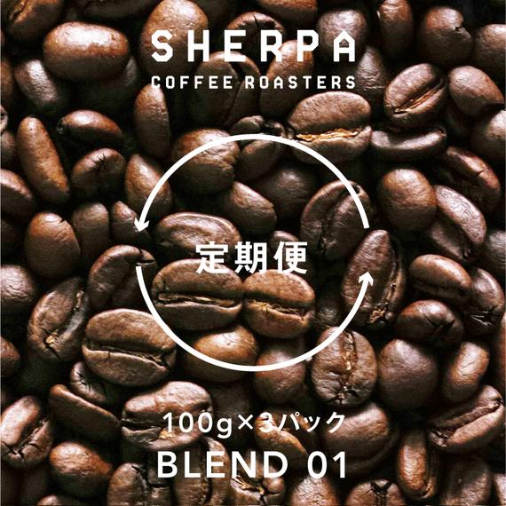 【定期便】ブレンド01 100g×3パック(300g)