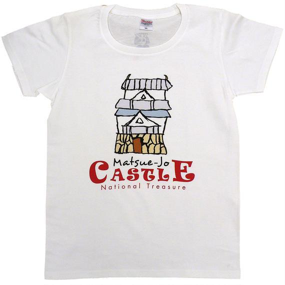 国宝松江城イラストTシャツ