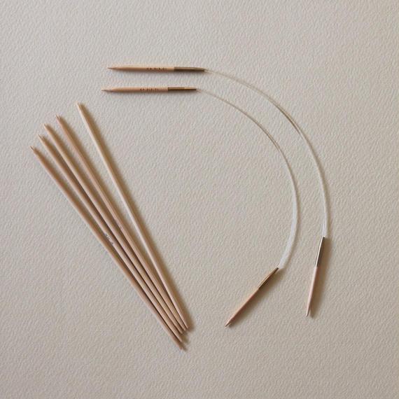 <ツール>編み針:お花のミトン用ミニ輪針併用セット
