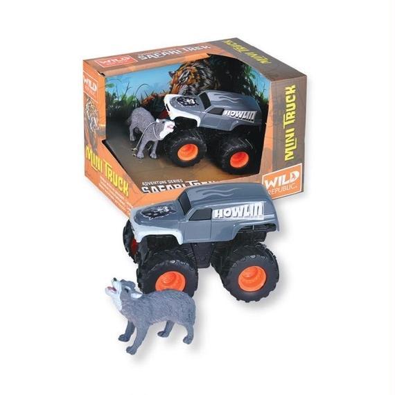 アドベンチャーセット ミニトラック&オオカミ 20660