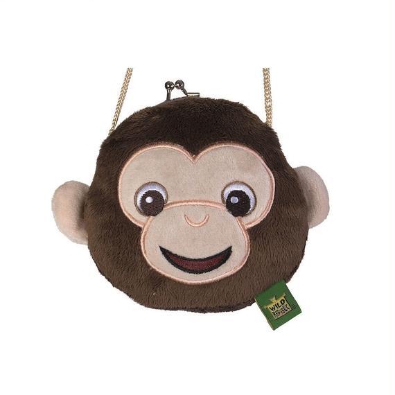 アニマル がま口 財布 チンパンジー 87714