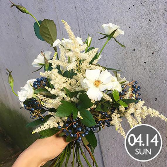 【春のブーケワークショップ】2019.4.14 12:00〜15:00 ワークショップ@MARINE & WALK YOKOHAMA