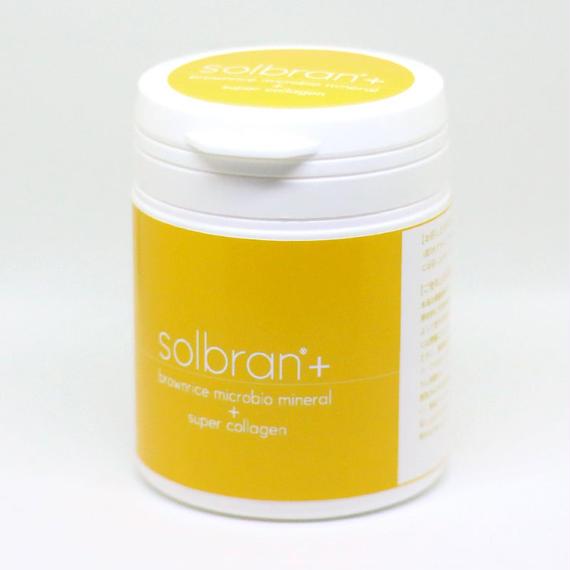 醗酵米ぬか粉末サプリメント Solbran ソルブラン+スーパーコラーゲン(カプセル)