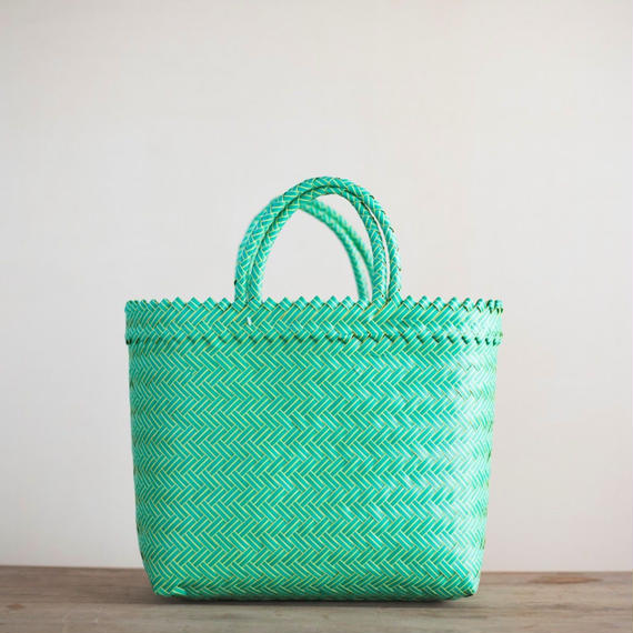 Large Pasar Basket - Vibrant Green