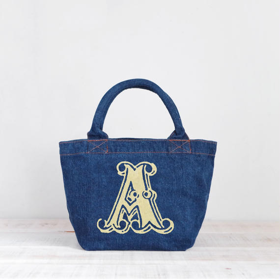 Organic Denim Tote A  / Ginger Beach Inn Original