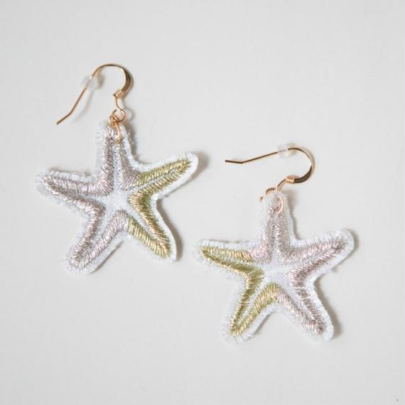 Starfish Earrings- Pair Set / zazie ai