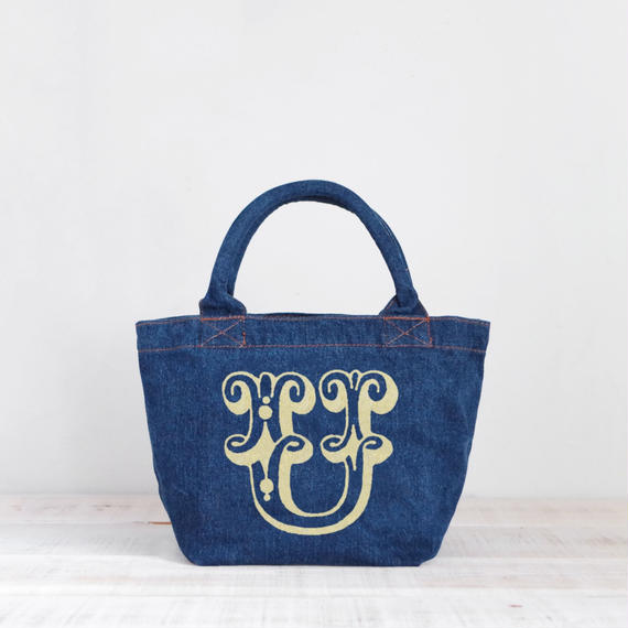 Organic Denim Tote U / Ginger Beach Inn Original