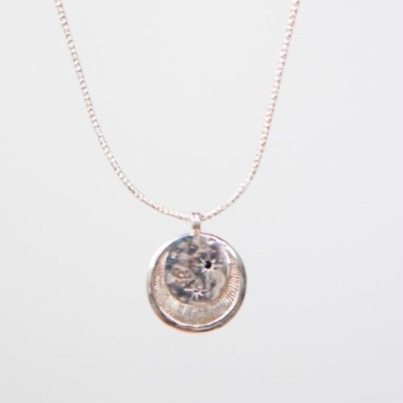 Celeste Necklace Silver  / Temple of the Sun