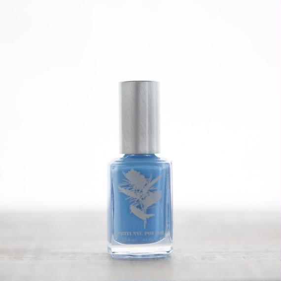 5 Free Nail Polish  -  Baby Blue Eyes  /PRITI NYC