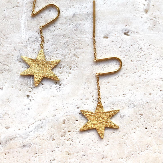 ASTRA EARRING GOLD / Temple of the sun
