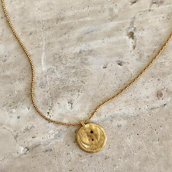 CELESTE NECKLACE GOLD / Temple Of The Sun