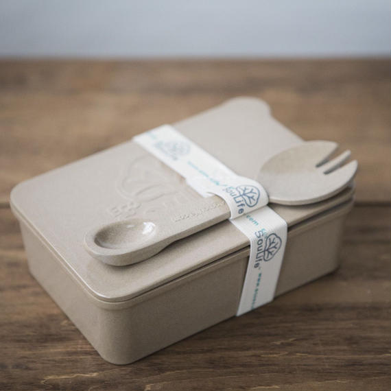 On the Go Box spork set -Biodegradable  / Eco SouLife
