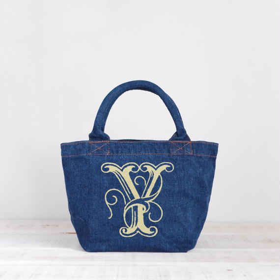 Organic Denim Tote Y / Ginger Beach Inn Original