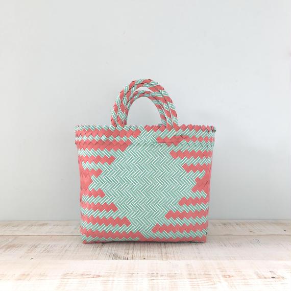 Pasar Basket - XS / Mint Green x  Pink