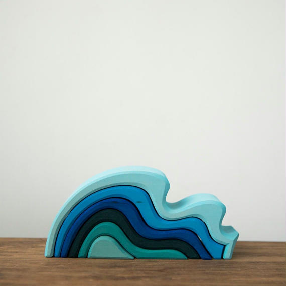 Wooden Water Waves - Small / Grimm's Toys